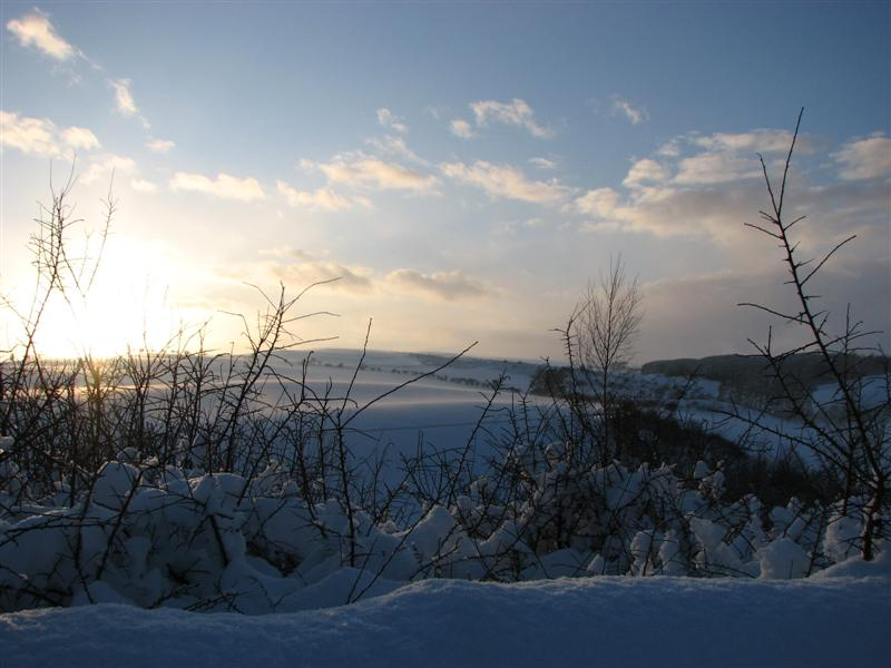 Jan 10, sunset snow 6